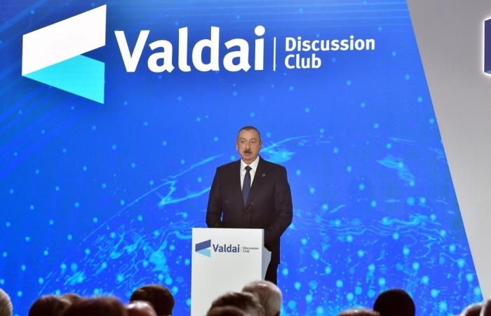 Ильхам Алиев - Карабах - это Азербайджан и точка