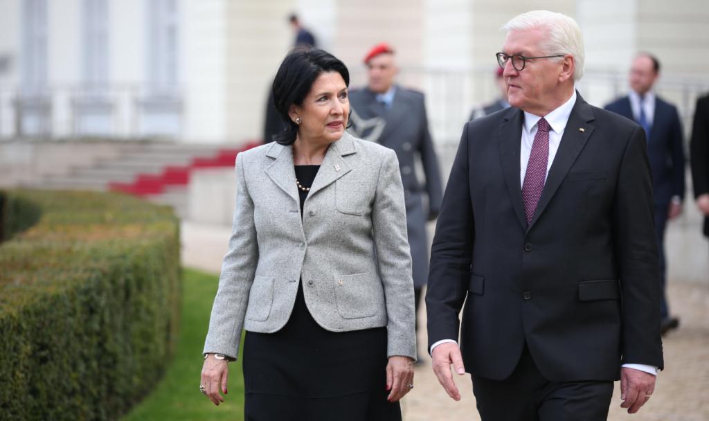 Сегодня Грузию с официальным визитом посетит президент Германии Франк-Вальтер Штайнмайер