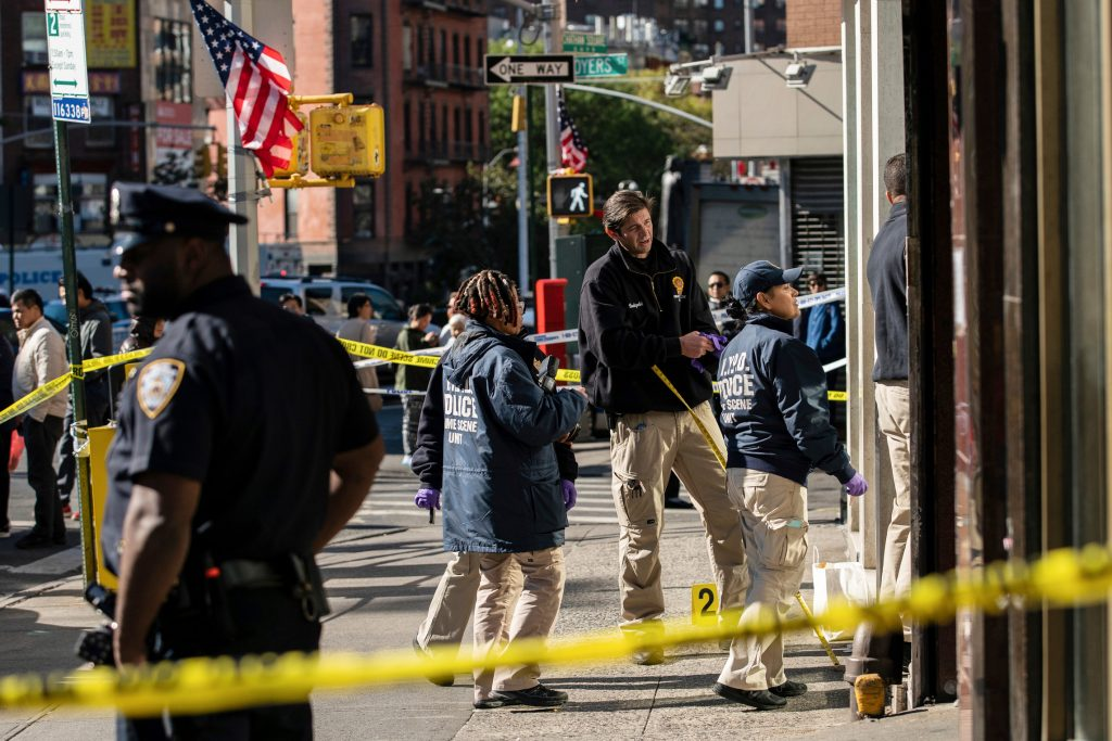 ნიუ იორკშიოთხი უსახლკარო ადამიანის მკვლელობისთვის პოლიციამ ერთი პირი დააკავა