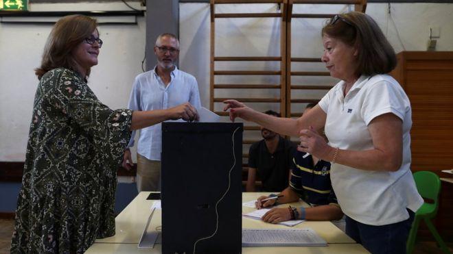 პორტუგალიაში საპარლამენტო არჩევნები მიმდინარეობს