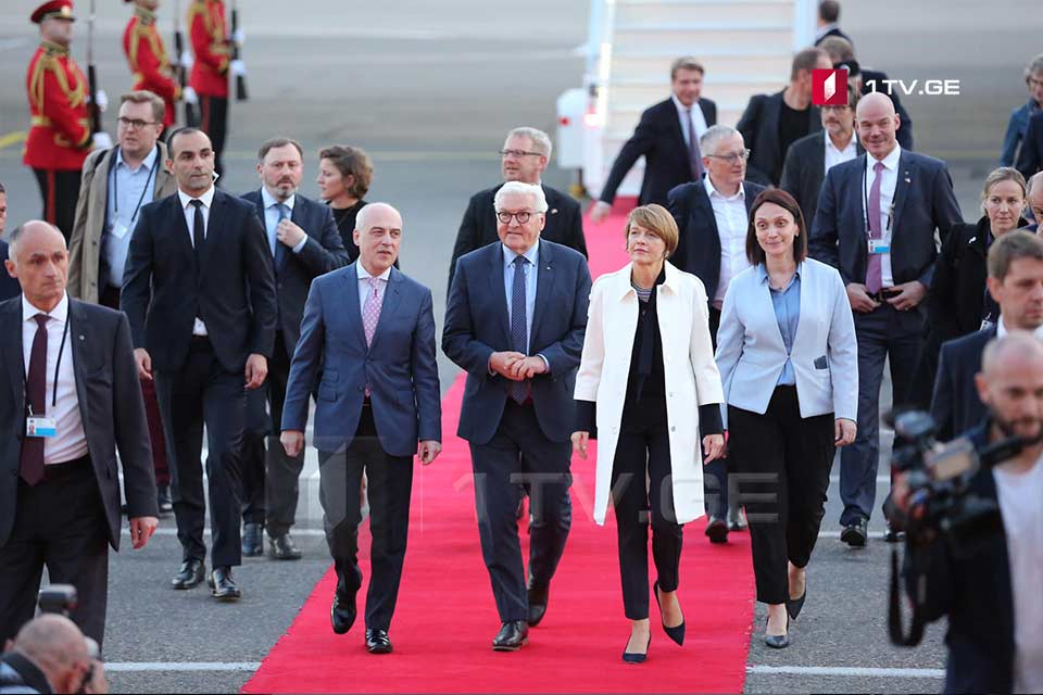 Frank-Walter Steinmeier arrived in Georgia with official visit