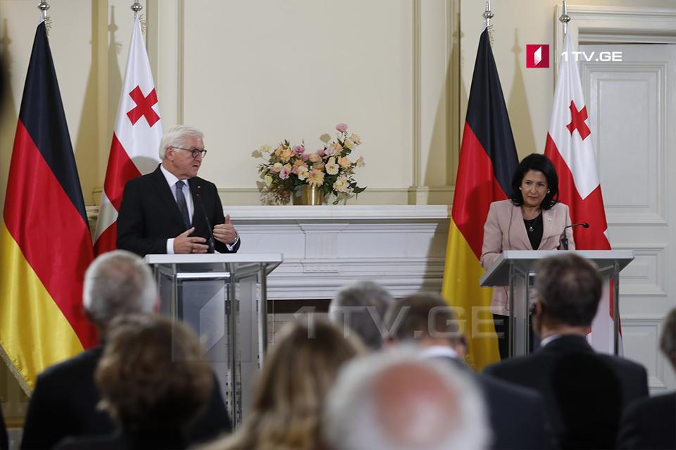 ფრანკ-ვალტერ შტაინმაიერი - საქართველო არის ეკონომიკური რეფორმების ლიდერი გერმანიისთვის