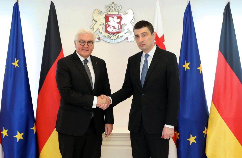 გიორგი გახარია - პრეზიდენტ შტაინმაიერის ვიზიტი ადასტურებს, რომ გერმანია საქართველოს საიმედო პარტნიორად მიიჩნევს