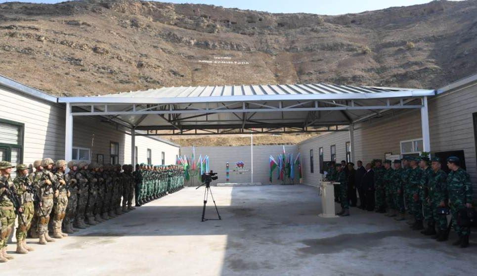 """Азербайджан открыл на территории Давид-Гареджи пограничную заставу - """"Грузино-азербайджанская государственная граница всегда была образцом дружбы"""""""
