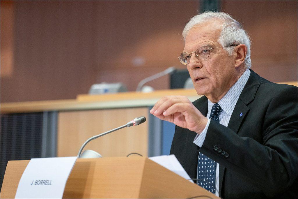 ჟოზეპ ბორელი- რუსეთიდან მომავალი საფრთხის საპასუხოდ ევროკავშირმა უკრაინა უნდა გააძლიეროს