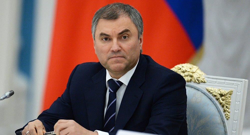 Ռուսաստանի դումայի խոսնակը պահանջում է, որ Վրաստանի նախագահը ներողություն խնդրի