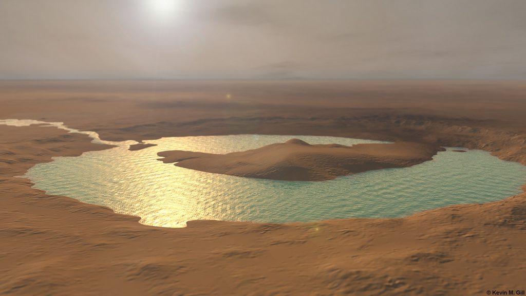 """მარსზე ერთ დროს მართლაც არსებობდა ვრცელი, მლაშე ტბა - """"კურიოზიტის"""" ახალი აღმოჩენა"""
