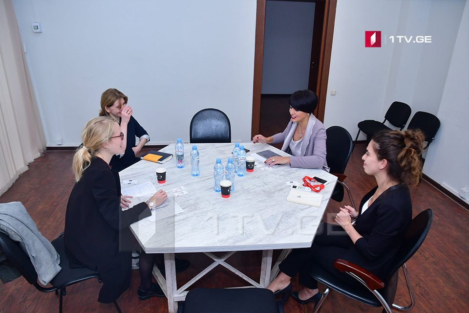 Tinatin Berdzenishvili met with representatives of Council of Europe on gender equality issues
