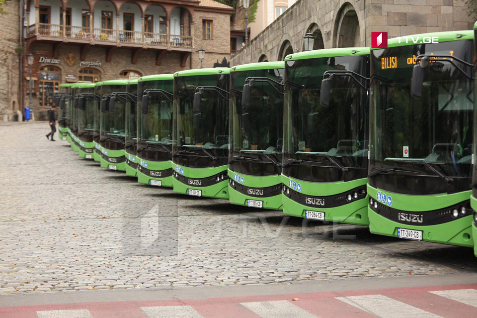 Kakha Kaladze: Yellow buses in Tbilisi will be replaced by end of 2020