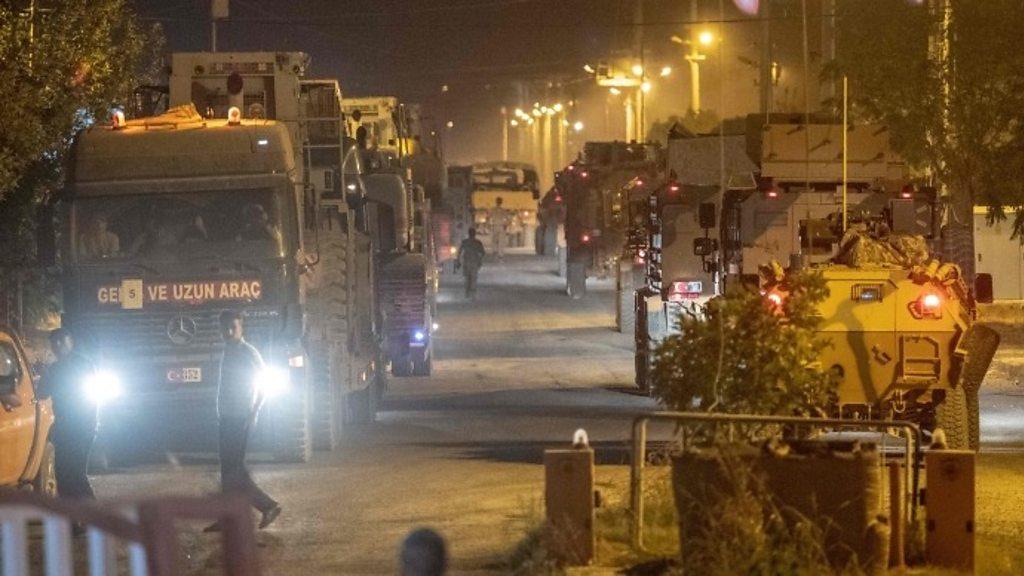 თურქეთმა სირიის საზღვართან სამხედრო კონტინგენტი გააძლიერა
