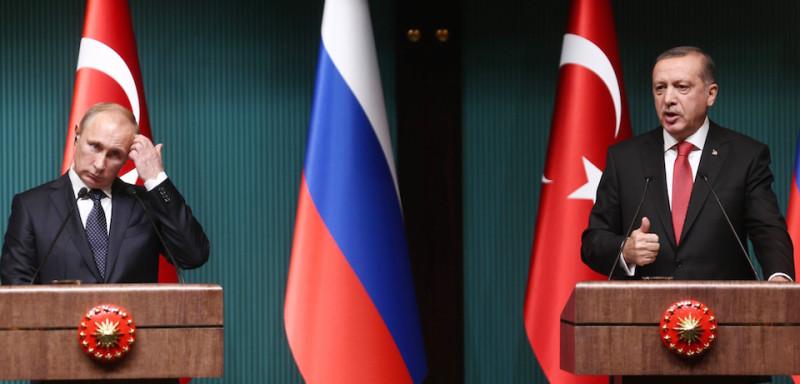 რუსეთისა და თურქეთის პრეზიდენტებს შორის სატელეფონო საუბარი გაიმართა