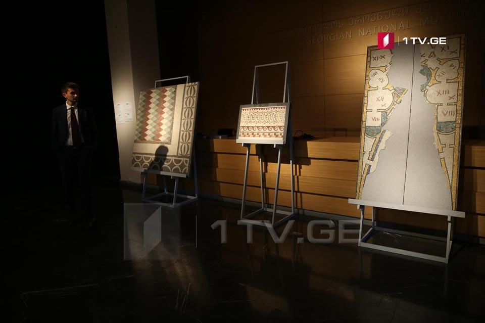 """ეროვნულ მუზეუმში გამოფენა """"ანტიკური რომის ფერები, მოზაიკა კაპიტოლიუმის მუზეუმებიდან"""" გაიხსნა [ფოტო]"""