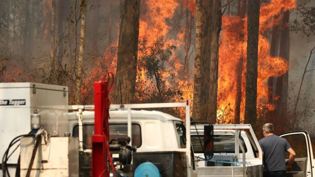 ავსტრალიაში ტყის ხანძარს ორი ადამიანი ემსხვერპლა