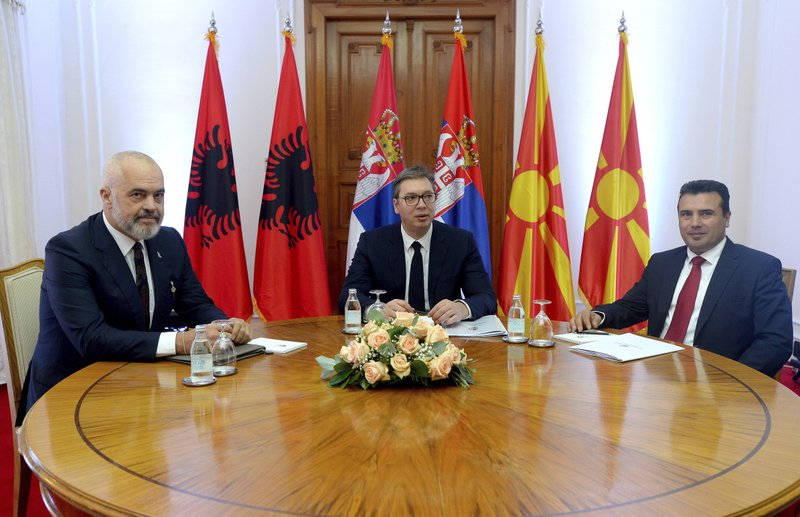 სერბეთის, ალბანეთისა და ჩრდილოეთ მაკედონიის ლიდერებმაე.წ. მინი შენგენის შეთანხმებას მოაწერეს ხელი