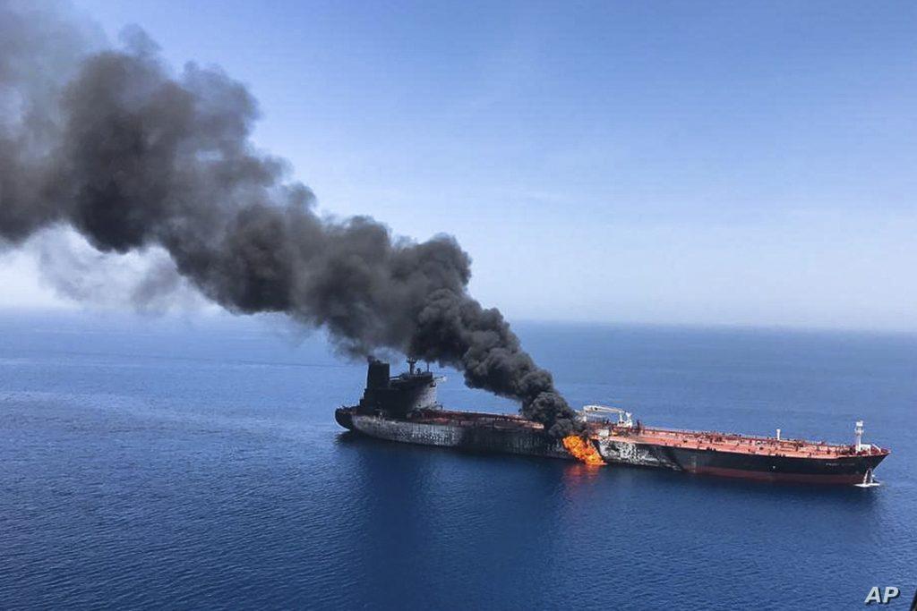 წითელ ზღვაში მცურავ ირანულ ნავთობმზიდზე აფეთქება მოხდა