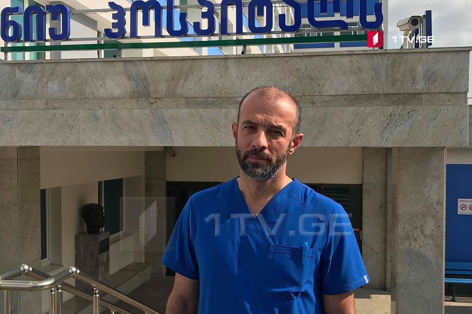 ექიმი - ჩვენ ვერ გავცემთ რეკომენდაციას, რომ ილია ჯიშკარიანმა საავადმყოფოს ტერიტორია დატოვოს
