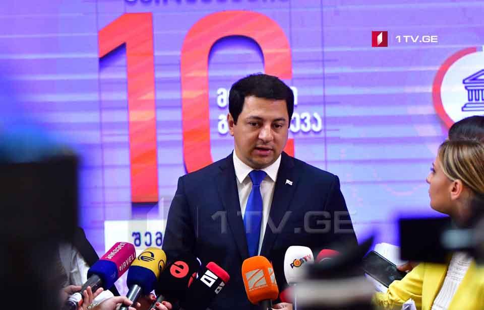 Арчил Талаквадзе - Призываем ту часть оппозиции, которая занята акциями замков, вернуться к нормальным политическим процессам