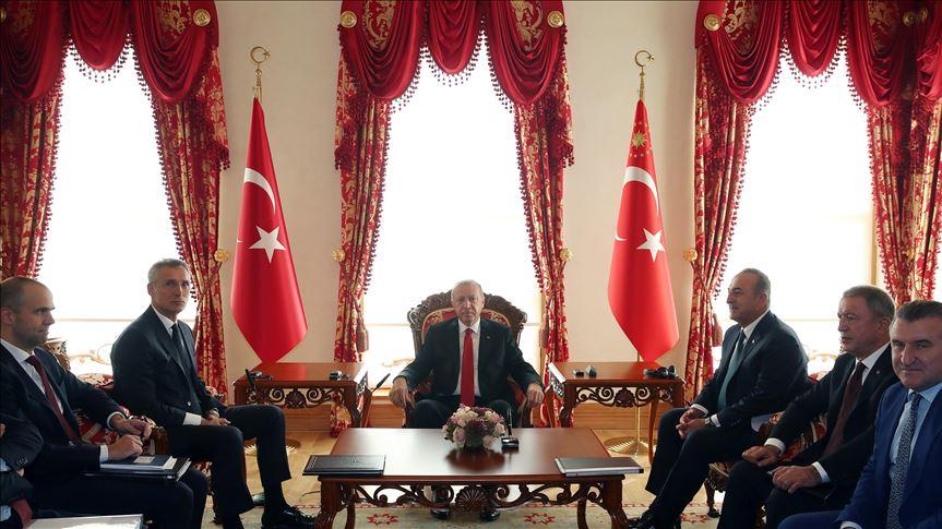 ՆԱՏՕ-ի գլխավոր քարտուղարը Ստամբուլում հանդիպել է Թուրքիայի նախագահին