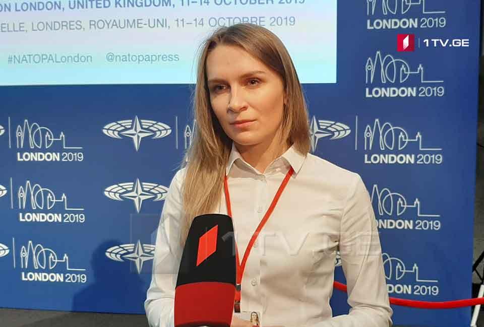 რადას დეპუტატი -ნატო-ს საპარლამენტო ასამბლეის სესიაზე ყველა მოხსენებაში გვექნება აქცენტი საქართველოსა და უკრაინაზე, საფრთხეებზე, რომელიც რუსეთიდან მომდინარეობს ორივე ქვეყნისთვის