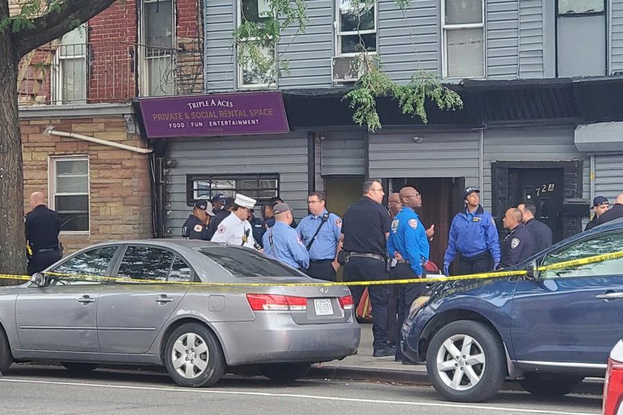 Четыре человека убиты в перестрелке в Нью-Йорке