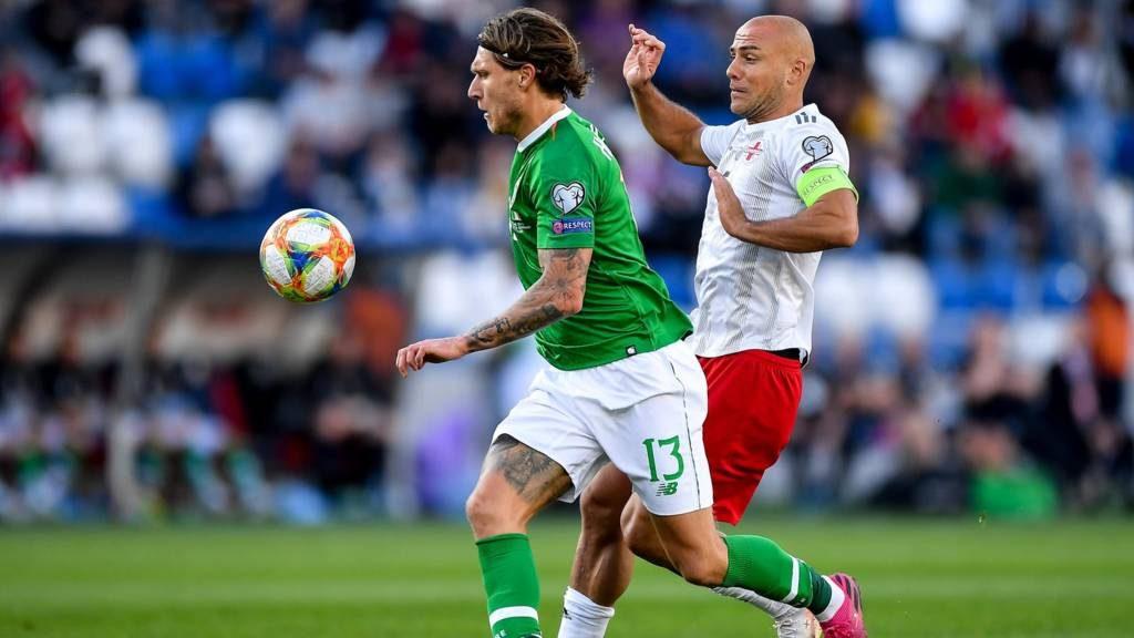 Грузия снова не смогла победить Ирландию | 0: 0