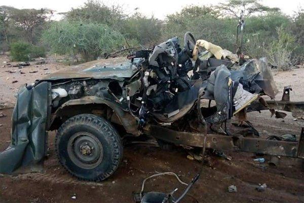 კენიაში აფეთქების შედეგად 10 პოლიციელი დაიღუპა