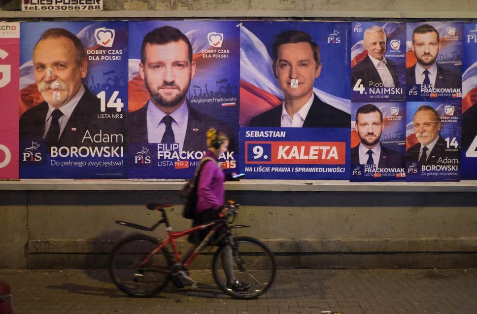 პოლონეთში საპარლამენტო არჩევნები იმართება