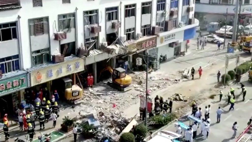 ჩინეთში, ძიანსუს პროვინციის ერთ-ერთ კაფეში აფეთქების შედეგად სულ მცირე ექვსი ადამიანი დაიღუპა