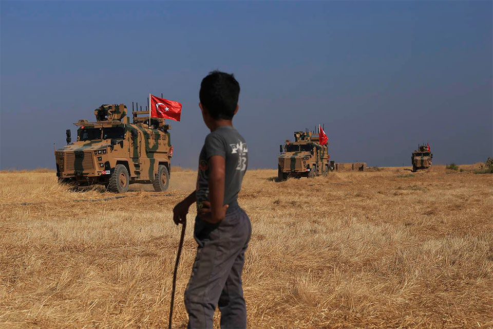 მსოფლიოს ამბები - თურქეთის სამხედრო ოპერაცია სირიაში