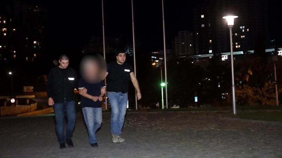 По обвинению в совершении насилия в отношении иностранной гражданки и повреждении ее вещей задержано одно лицо