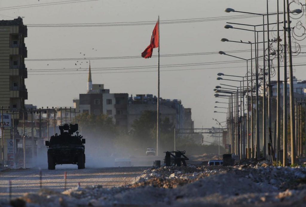 ევროკავშირის წევრი ქვეყნების ნაწილი თურქეთისთვის იარაღის მიწოდებაზე ემბარგოს დაწესებას ემხრობა