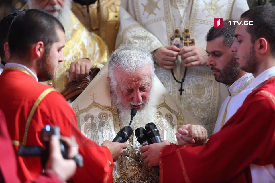 პატრიარქმა წმინდა ამბროსი ხელაიას მოღვაწეობაზე ისაუბრა და ამერიკის ქართულ სამღვდელოებას იუბილე მიულოცა