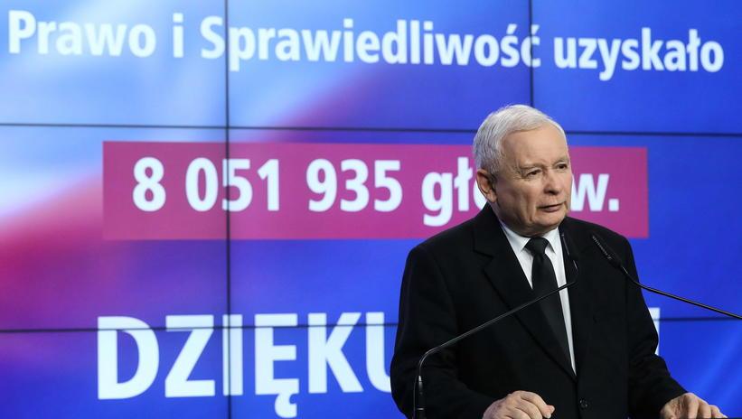 Polşa Parlament seçkilərində Yaroslav Kaçinskinin partiyası qələbə qazandı