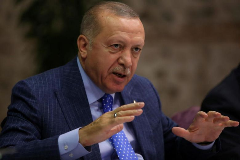 President of Turkey calls on Kurdish militants to give up the battle and retreat