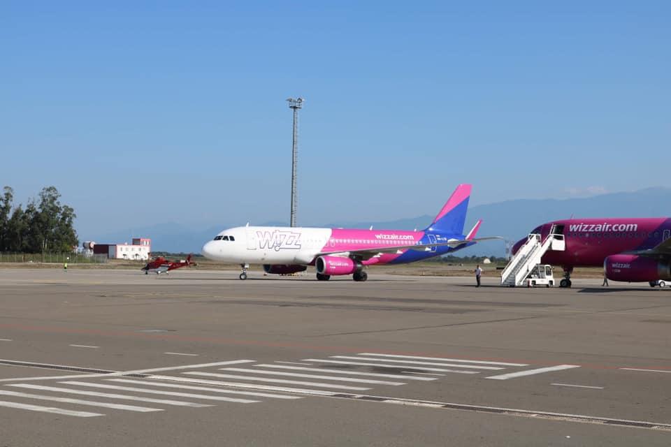 Авиакомпания Wizz Air добавила два новых направления из Кутаиси