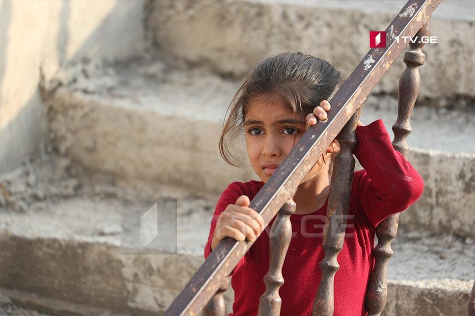 ბავშვები თურქეთ-სირიის საზღვართან - ირაკლი გედენიძის ფოტოამბავი