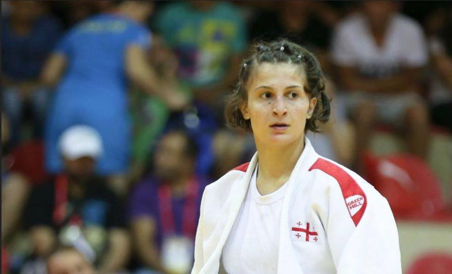Этер Липартелиани - Победительница молодежного чемпионата мира - дзюдо