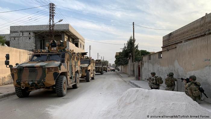 ევროკავშირი თურქეთს სირიაში სამხედრო ოპერაციის სრულად შეწყვეტისკენ მოუწოდებს