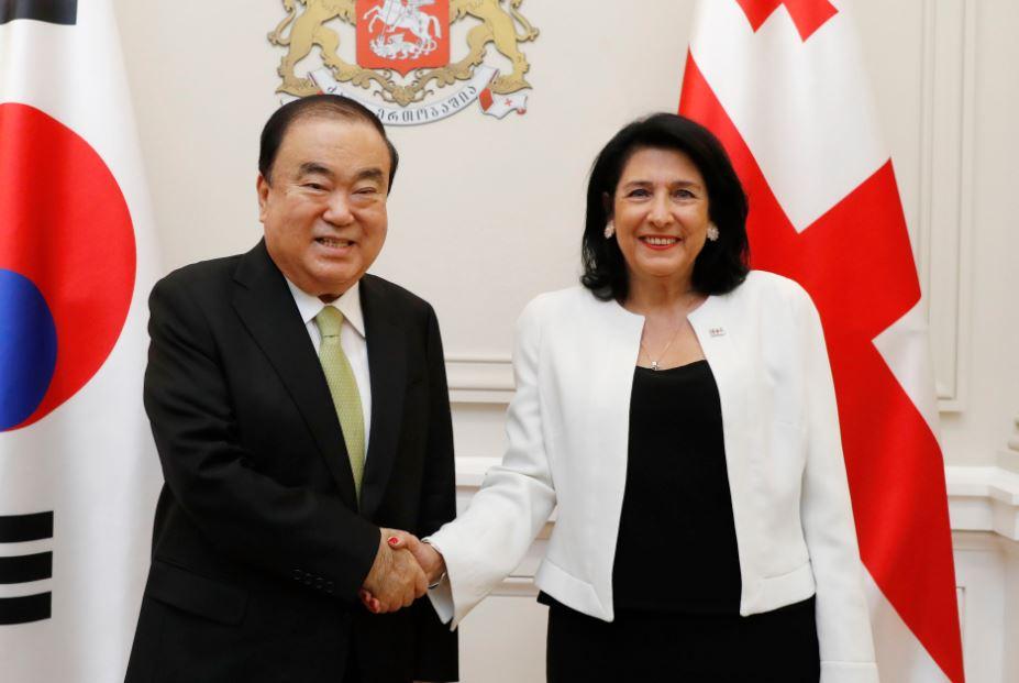 Спикер Национального собрания Кореи пригласил Зурабишвили в Сеул
