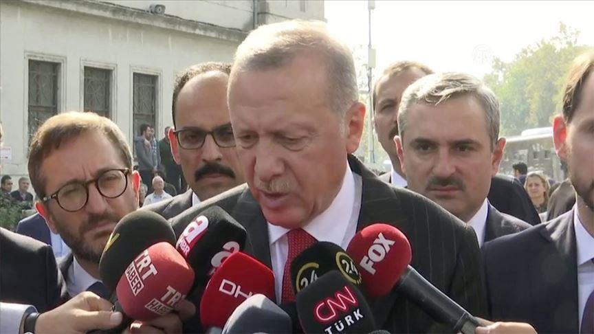 რეჯეფ თაიფ ერდოღანი - უსაფრთხოების ზონაში თურქეთის ძალებსა და ქურთ ტერორისტებს შორის შეტაკება სიმართლეს არ შეესაბამება
