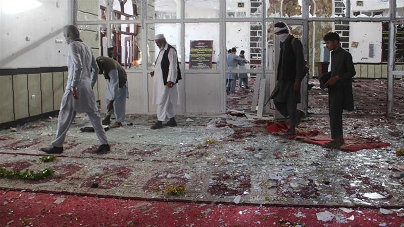 ავღანეთში, მეჩეთში თავდასხმის შედეგად დაღუპულთა რიცხვი 62-მდე გაიზარდა
