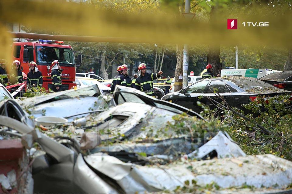 Թբիլիսիում, պայթյունի հետևանքով տուժած չորս անձանց տեղափոխել են հիվանդանոցներ
