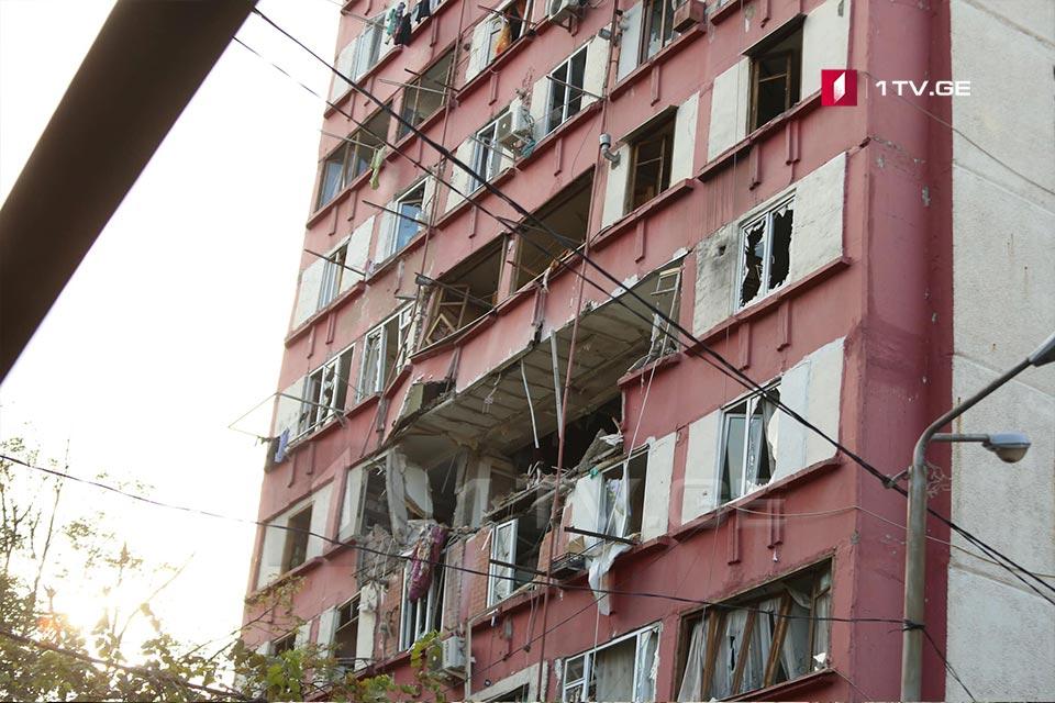 Пострадавшим в результате взрыва на проспекте Гурамишвили оказывается медицинская помощь