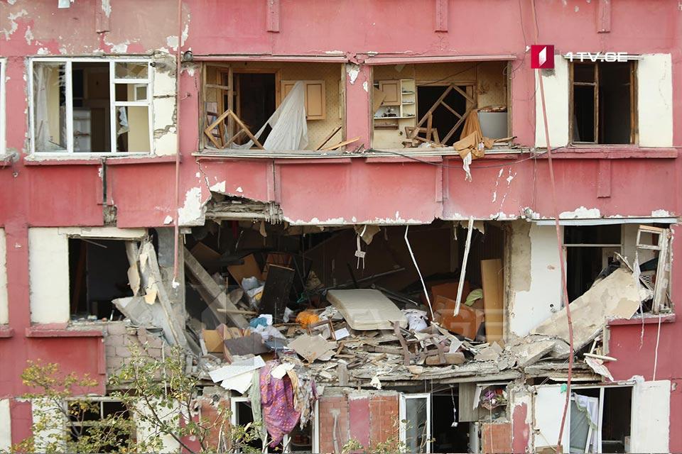 Թբիլիսիում, պայթյունի հետևանքով տուժած 39-ամյա տղամարդու վիճակը ծայրահեղ ծանր է