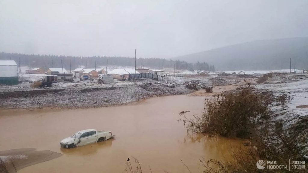 Death toll reaches 13 after dam collapses in Russia's Krasnoyarsk region