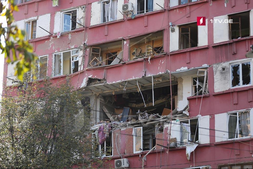 გურამიშვილის ქუჩაზე აფეთქების შედეგად დაზიანებული კორპუსის მცხოვრებლები უკვე ოთხ სასტუმროში არიან გადანაწილებულნი