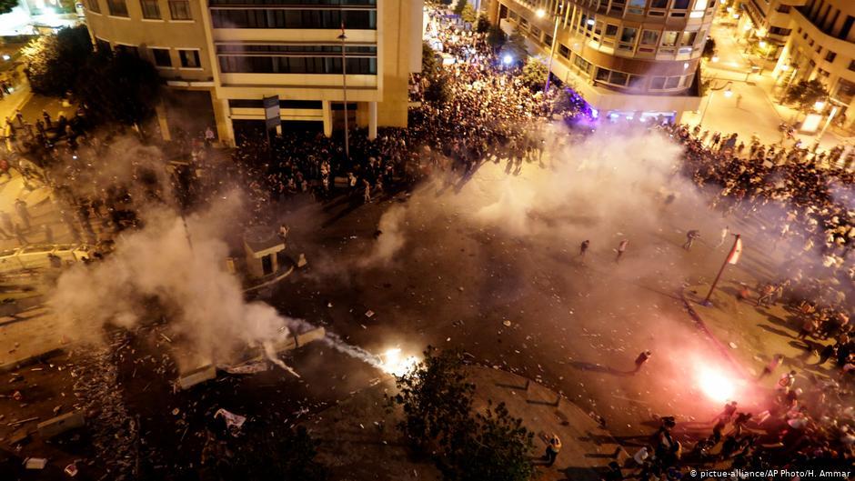 ლიბანში საპროტესტო აქციის დროს ორი ადამიანი დაიღუპა, ათობით კი დაშავდა