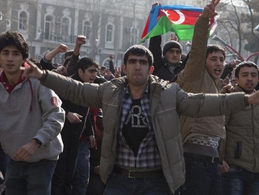 На акции оппозиции в Баку произошли задержания