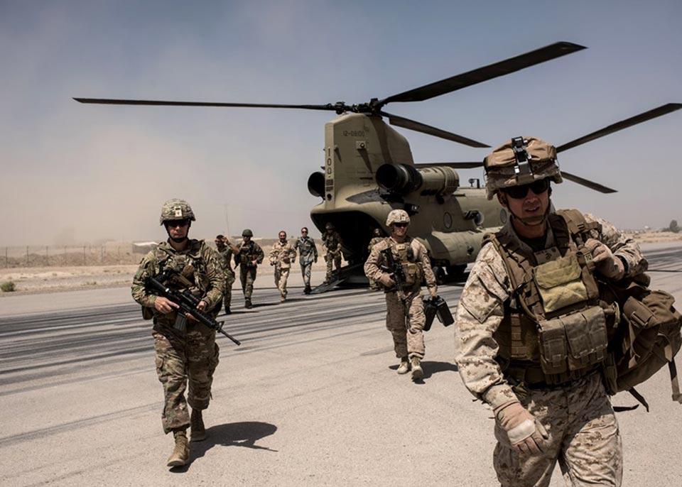 """""""ენბისი"""" - აშშ-ის თავდაცვის დეპარტამენტი ავღანეთიდან ამერიკელი სამხედროების გაყვანის გეგმაზე მუშაობს"""