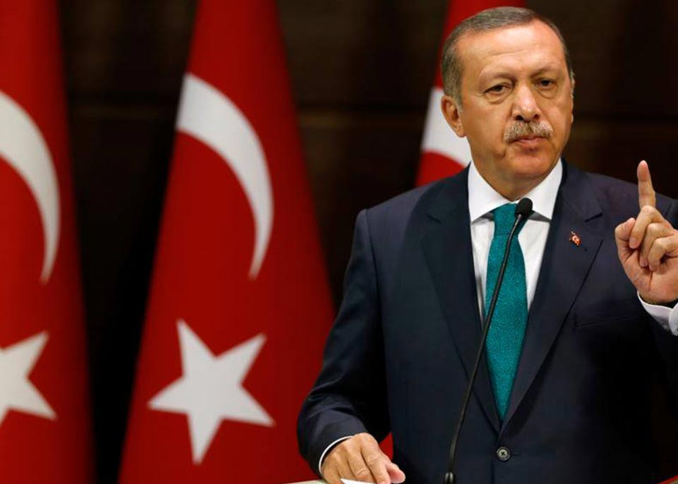 President of Turkey - Turkey to resume northern Syria operation if U.S. does not keep promises